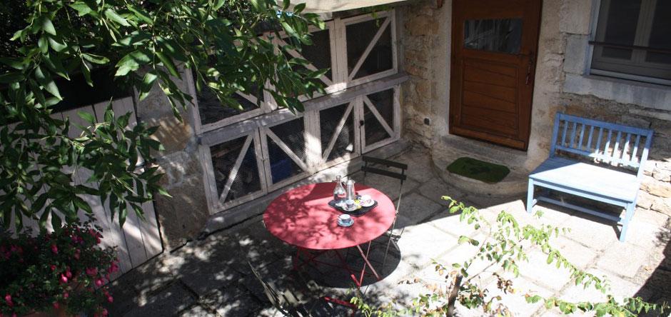 Profiter de la terrasse en été